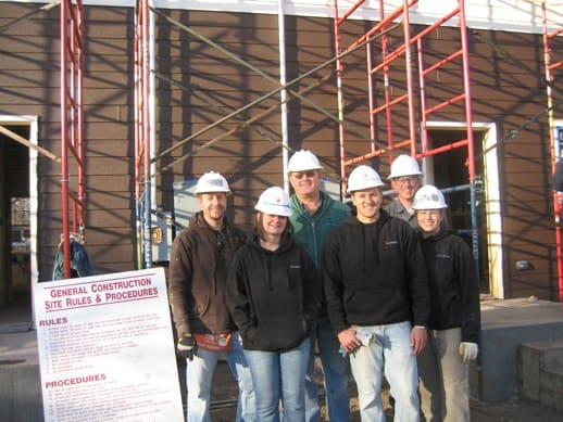 Lifescape volunteers with Habitat for Humanity of Metro Denver