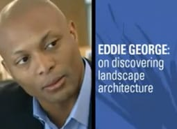 Former NFL Player Eddie George talks about being a Landscape Architect