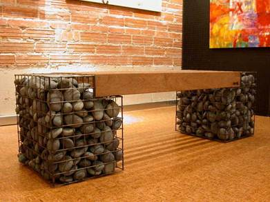 Gabions: New Design Items for the Landscape