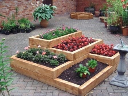 raised garden bed designs  1