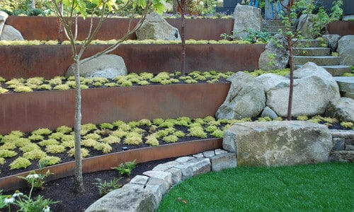 Landscape Design Solutions for Colorado: Terraces