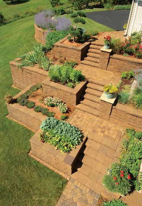 Landscape design solutions for colorado terraces lifescape for Terrace landscape