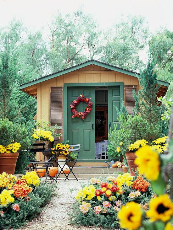 Designing a Beautiful Functional Garden Shed Lifescape