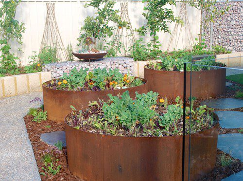 Landscaping ideas with recycled materials lifescape colorado for Garden ideas using recycled materials