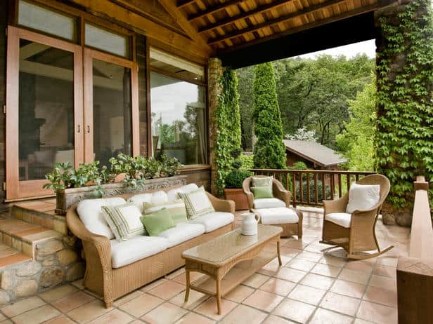 Front porch landscaping ideas lifescape colorado for Mexican porch designs
