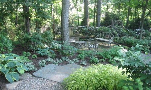 Shady Garden Plans