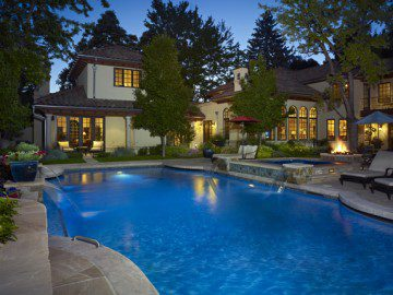 Keep Your Pool & Design with Color, Lines, & Texture