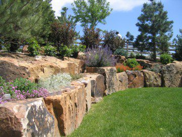 Solid Rock Wall Designs for Colorado Landscapes