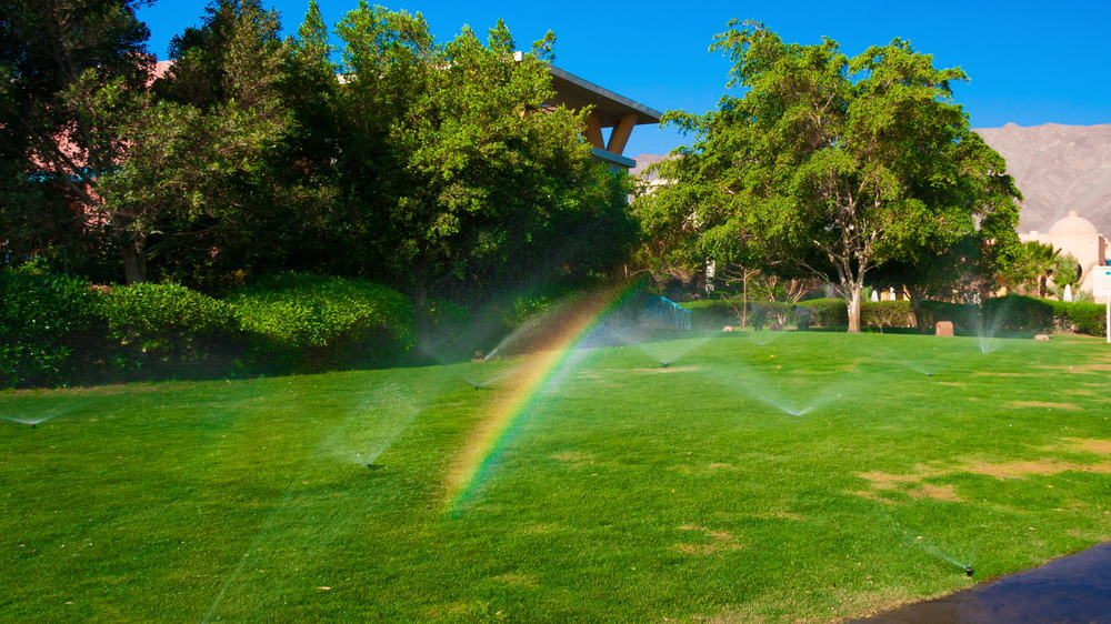 efficient sprinkler system