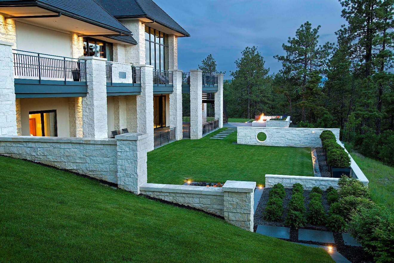 Castle Pines backyard
