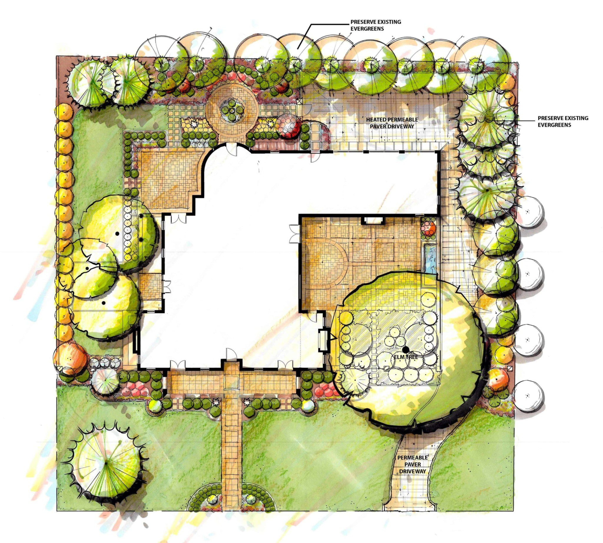 15-Polo Club Villa Landscape Plan