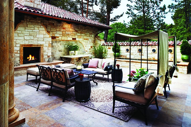Lifescape Polo Club Villa patio