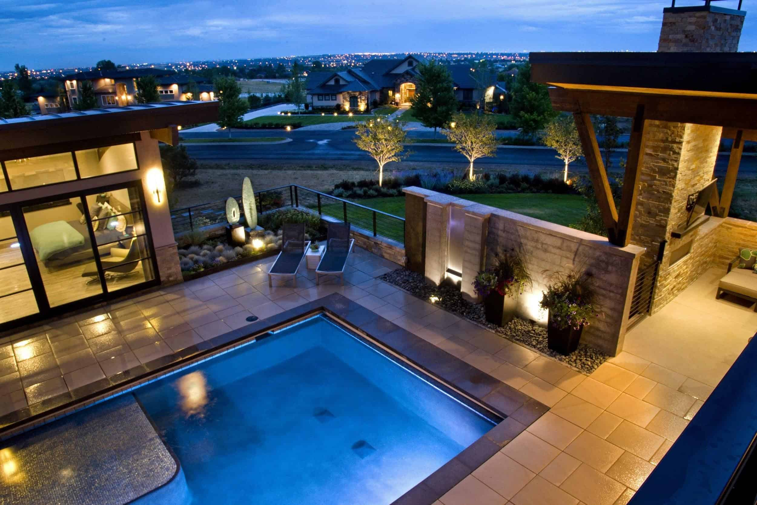 enhance outdoor ambiance with landscape lighting lifescape colorado