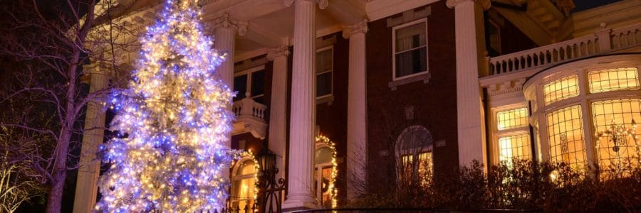 Lifescape lights up the holidays at the Governor's Mansion