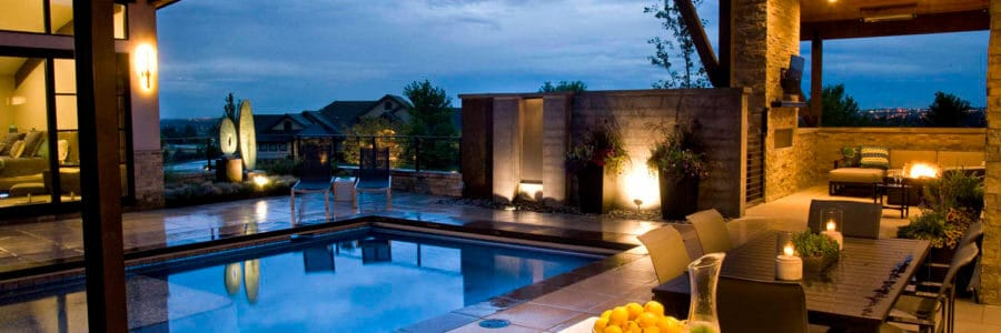 Create a private sanctuary with a sparkling pool