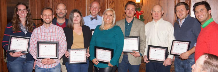 Lifescape honors outstanding Team Members at Year End Lifescape Awards.