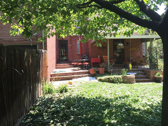 Before After A Small Backyard Gets A Cottage Inspired Makeover Lifescape Colorado